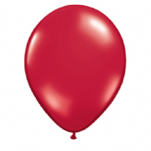 "Qualatex 11 inch Balloons - Ruby Red 11"" Balloons (Jewel 100pcs)"